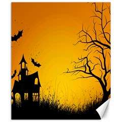 Day Halloween Night Canvas 20  X 24   by AnjaniArt