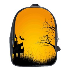 Day Halloween Night School Bags(large)  by AnjaniArt