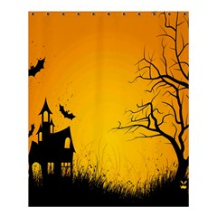 Day Halloween Night Shower Curtain 60  X 72  (medium)  by AnjaniArt
