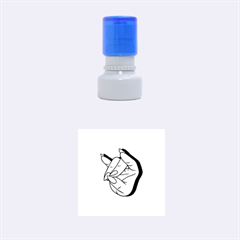 Finger Rubber Round Stamps (small) by AnjaniArt