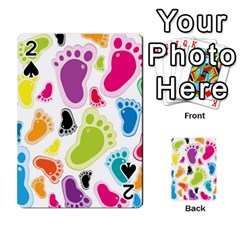 Foot Soles Of The Feet Playing Cards 54 Designs  by AnjaniArt