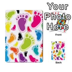 Foot Soles Of The Feet Multi Purpose Cards (rectangle)