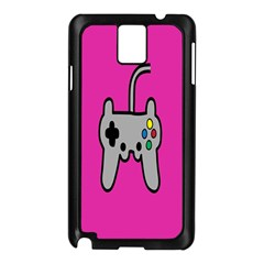 Game Pink Samsung Galaxy Note 3 N9005 Case (Black) by AnjaniArt