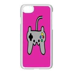 Game Pink Apple Iphone 7 Seamless Case (white)