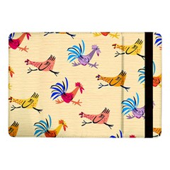 Chicken Samsung Galaxy Tab Pro 10 1  Flip Case by AnjaniArt