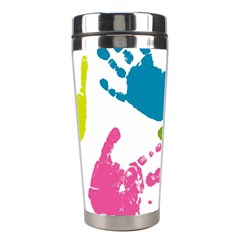 Hand Stainless Steel Travel Tumblers by AnjaniArt