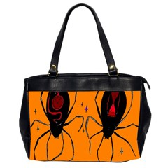 Happy Hellpween Spider Office Handbags (2 Sides)  by AnjaniArt