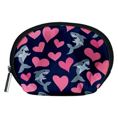 Shark Lovers Accessory Pouches (medium)  by BubbSnugg