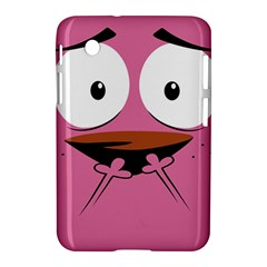 Funny Face Samsung Galaxy Tab 2 (7 ) P3100 Hardshell Case  by AnjaniArt