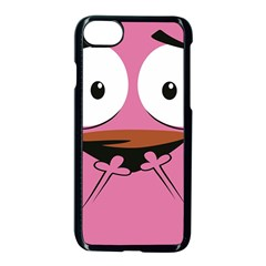 Funny Face Apple Iphone 7 Seamless Case (black) by AnjaniArt