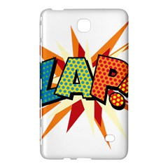 Comic Book Zap! Sans  Samsung Galaxy Tab 4 (7 ) Hardshell Case  by ComicBookPOP