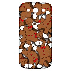 Christmas Candy Seamless Pattern Vectors Samsung Galaxy S3 S Iii Classic Hardshell Back Case by Onesevenart