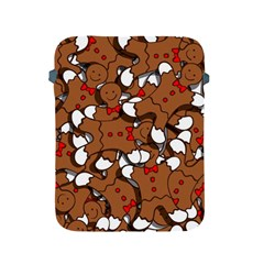 Christmas Candy Seamless Pattern Vectors Apple Ipad 2/3/4 Protective Soft Cases by Onesevenart