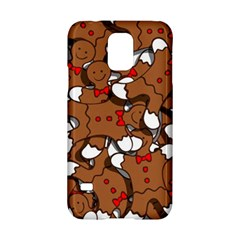 Christmas Candy Seamless Pattern Vectors Samsung Galaxy S5 Hardshell Case  by Onesevenart