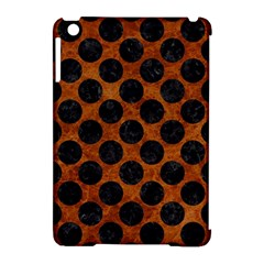 Circles2 Black Marble & Brown Marble (r) Apple Ipad Mini Hardshell Case (compatible With Smart Cover) by trendistuff