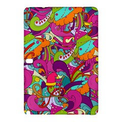 Christmas Elements With Doodle Seamless Pattern Vector Samsung Galaxy Tab Pro 10 1 Hardshell Case by Onesevenart