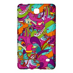 Christmas Elements With Doodle Seamless Pattern Vector Samsung Galaxy Tab 4 (8 ) Hardshell Case  by Onesevenart