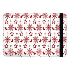 Christmas Pattern  Samsung Galaxy Tab Pro 10 1  Flip Case by Onesevenart