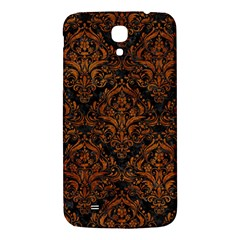 Damask1 Black Marble & Brown Marble Samsung Galaxy Mega I9200 Hardshell Back Case by trendistuff
