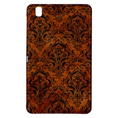 Damask1 Black Marble & Brown Marble (r) Samsung Galaxy Tab Pro 8 4 Hardshell Case by trendistuff