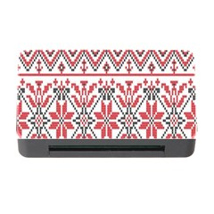 Consecutive Knitting Patterns Vector Background Memory Card Reader With Cf by Onesevenart