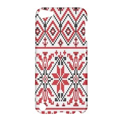 Consecutive Knitting Patterns Vector Background Apple Ipod Touch 5 Hardshell Case by Onesevenart