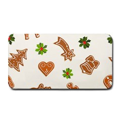 Cute Christmas Seamless Pattern  Medium Bar Mats by Onesevenart