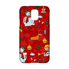 Cute Christmas Seamless Pattern Vector  Samsung Galaxy S5 Hardshell Case  by Onesevenart