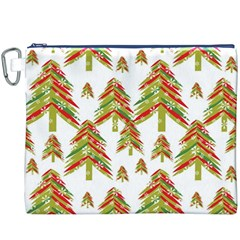 Cute Christmas Seamless Pattern Vector    Canvas Cosmetic Bag (xxxl) by Onesevenart