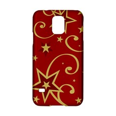 Elements Of Christmas Decorative Pattern Vector Samsung Galaxy S5 Hardshell Case  by Onesevenart