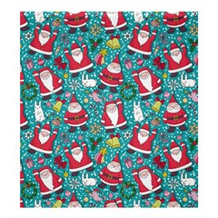 Cute Christmas Seamless Pattern Vector   Shower Curtain 66  X 72  (large)  by Onesevenart