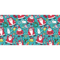 Cute Christmas Seamless Pattern Vector   You Are Invited 3d Greeting Card (8x4) by Onesevenart