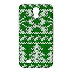 Knitted Fabric Christmas Pattern Vector Samsung Galaxy Mega 6 3  I9200 Hardshell Case by Onesevenart
