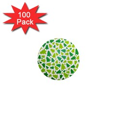 Pattern Christmas Elements Seamless Vector  1  Mini Magnets (100 Pack)  by Onesevenart