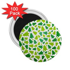 Pattern Christmas Elements Seamless Vector  2 25  Magnets (100 Pack)  by Onesevenart