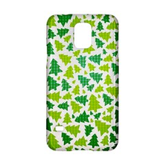 Pattern Christmas Elements Seamless Vector  Samsung Galaxy S5 Hardshell Case  by Onesevenart