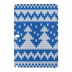 Knitted Fabric Christmas Pattern Vector Samsung Galaxy Tab Pro 12 2 Hardshell Case by Onesevenart