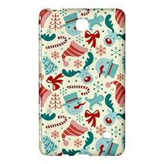 Pattern Christmas Elements Seamless Vector       Samsung Galaxy Tab 4 (8 ) Hardshell Case  by Onesevenart