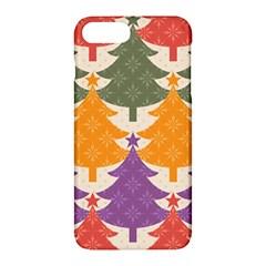 Tree Christmas Pattern Apple Iphone 7 Plus Hardshell Case by Onesevenart