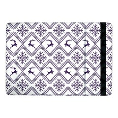 Simple Christmas Pattern Seamless Vectors  Samsung Galaxy Tab Pro 10 1  Flip Case by Onesevenart