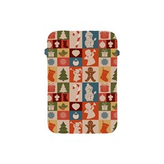 Xmas  Cute Christmas Seamless Pattern Apple Ipad Mini Protective Soft Cases by Onesevenart