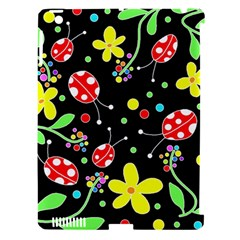 Flowers And Ladybugs Apple Ipad 3/4 Hardshell Case (compatible With Smart Cover) by Valentinaart