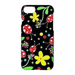 Flowers And Ladybugs Apple Iphone 7 Hardshell Case