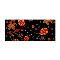 Flowers And Ladybugs 2 Cosmetic Storage Cases by Valentinaart