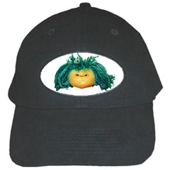 Angry Girl Doll Black Cap