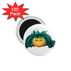 Angry Girl Doll 1 75  Magnets (100 Pack)  by dflcprints