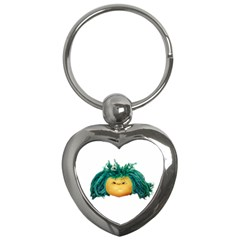 Angry Girl Doll Key Chains (heart)  by dflcprints