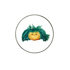 Angry Girl Doll Hat Clip Ball Marker (4 Pack) by dflcprints