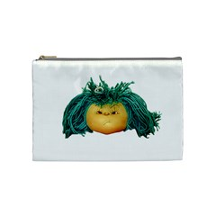 Angry Girl Doll Cosmetic Bag (medium)  by dflcprints