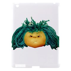 Angry Girl Doll Apple Ipad 3/4 Hardshell Case (compatible With Smart Cover) by dflcprints